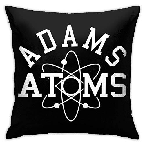 INGXIANGANCHI Revenge of The Nerds Adams Atoms Funda de almohada, impresión de doble cara, funda de almohada con cremallera oculta, hermoso patrón impreso, 45,7 cm (18 pulgadas)
