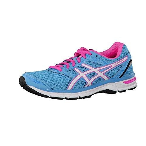 ASICS Zapatillas de mujer para correr Gel-Excite 4, Azul (Indigo Blue/Orchid), 6 B(M) US