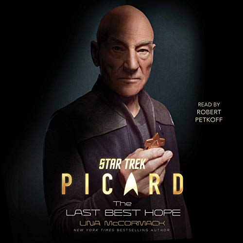 Star Trek: Picard: The Last Best Hope cover art
