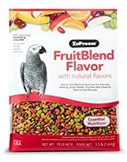 Zupreem FruitBlend Flavor ,Medium & Large Parrot Food , 3.5 lb (1.6 kg)