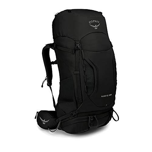 Osprey Kestrel 68 Trekkingrucksack für Männer - Black (M/L)