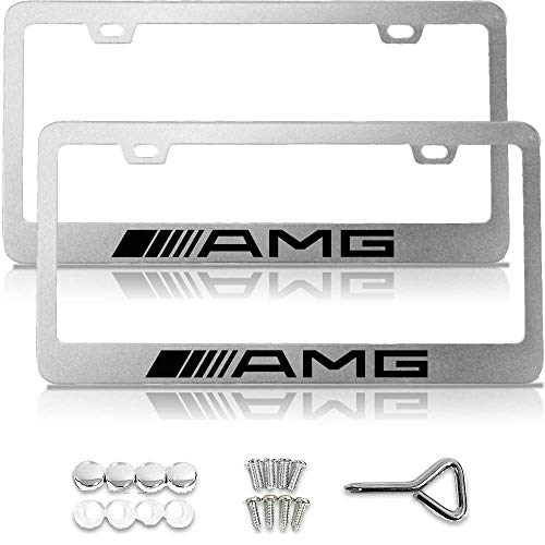 License Plate Frame for Mercedes Benz, License Plate Frame for Mercedes, License Plate Frame for AMG, Mercedes Benz Accessories, Chrome License Plate Frame, License Plate Frame Chrome