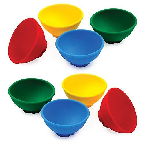Norpro Silicone Mini Pinch Bowls, Set of 8