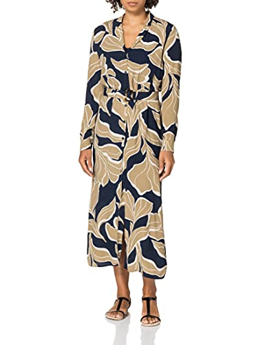 ESPRIT Collection Damen 021EO1E329 Kleid, 403/NAVY 4, 36