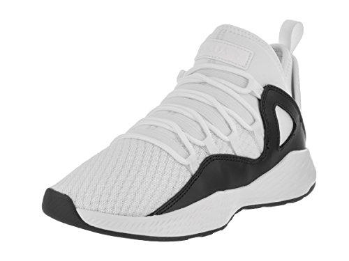 Nike Jordan Kids Jordan Formula 23 Bg White/White/Black Basketball Shoe 4.5 Kids US