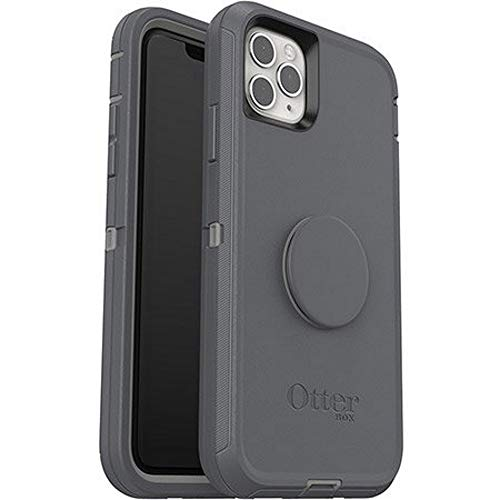 Otter + Pop Defender Series SCREENLESS Edition Case for iPhone 11 Pro Max Retail Packaging - Howler Grey