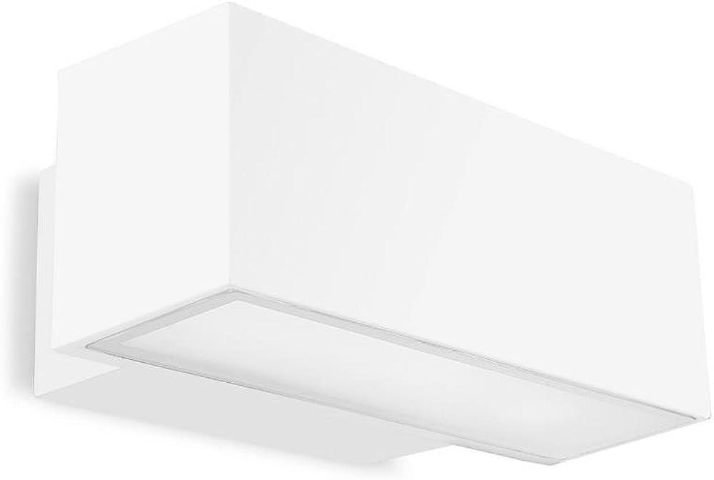 Leds c4,lampada da parete afrodita,in alluminio iniettato 05-9228-14-37