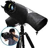 Kamera Regenschutzhülle, CADeN Wasserdicht Camera Rain Cover Schutz für Canon Nikon Sony spiegelreflexkameras
