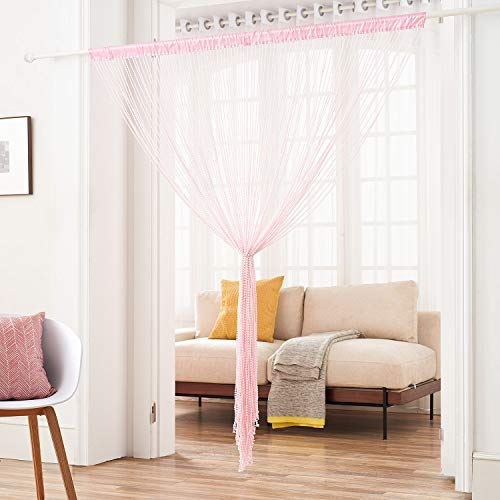 String Curtain With Pellet Light Waiting Room Decoration