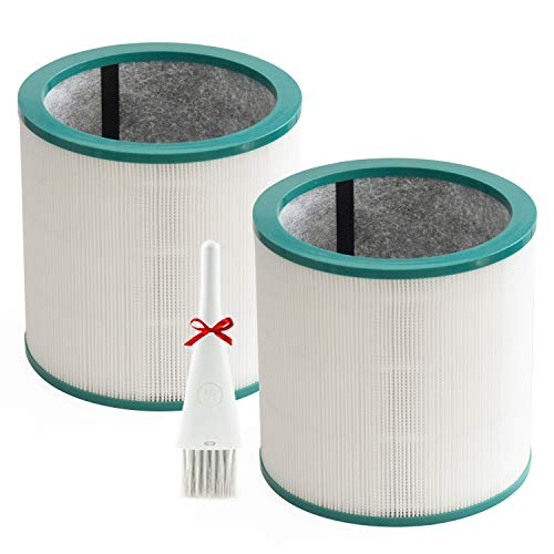 2 Pack Replacement Air Purifier Filter for Dyson Tower Purifier Pure Cool Link TP00,TP01, TP02, TP03, BP01,AM11, Compare to Part 968126-03