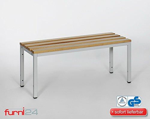 Umkleidebank Garderobenbank Sportbank Sitzbank für Umkleide 100 cm x 42 cm x 40 cm