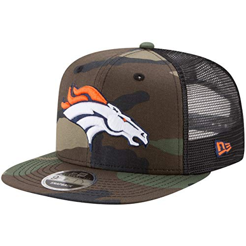 New Era 9Fifty Mesh Snapback Cap Denver Broncos Wood camo