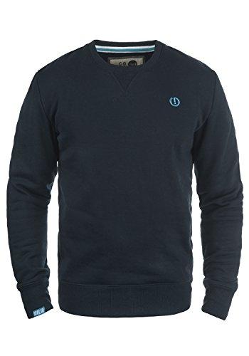 !Solid Benn O-Neck Herren Sweatshirt Pullover Pulli mit Rundhalsausschnitt, Größe:XXL, Farbe:Insignia Blue (1991)