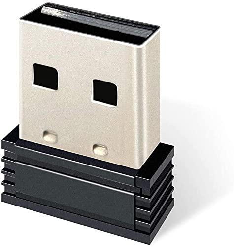 Smalife USB ANT+ Dongle, Mini Wireless ANT+ USB Stick Receiver Dongle Adapter für Garmin, Sunnto, Zwift, PerfPRO Studio, CycleOps Virtual Trainer, Radfahren Spiel