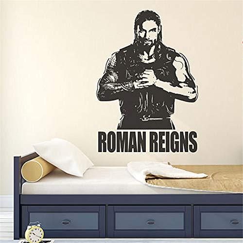 stickers muraux citations love Roman Reigns Wrestlemania Wwe Superstar Lutteurs
