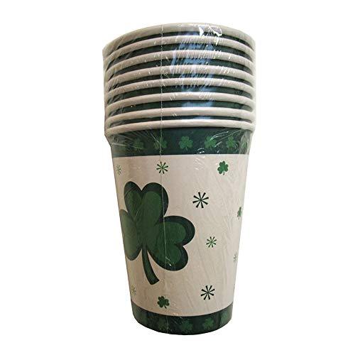 Funny Fashion NEU Becher St. Patrick's Day, 8 Stück