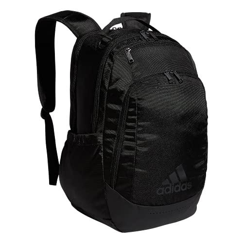 adidas Mochila deportiva unisex Defender Team, Unisex, 979425, Negro/Negro, Talla única