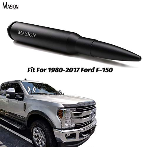 Voiture FM Radio Dodge Ram Truck 1500 Antenne universelle Toyota Tacoma Tundra Sienna Ford F-150 Super Duty Mustang compatible avec Jeep Wrangler JK Compass Harley Davidson 6,1 pouces