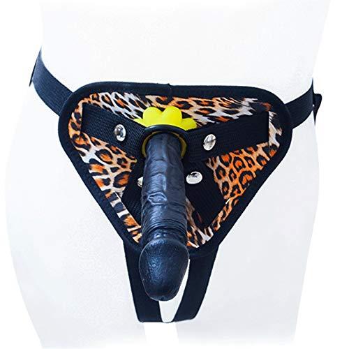 BOXXZFVZWS Stráp-on Hạrnẹss Ðịldo 5.9-inch Double Layer Liquid Silicone Ðildô Rẹalịstic Lifelike Ðịldo Strạplẹss Waterproof Shorts for Women Female Couple Lẹsbịan Gạy Beginners Female Personal Tọys