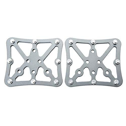 BGGPX Pedal de aleación de Aluminio Plano de la Bicicleta Plataforma Adaptador...