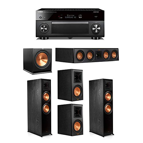 Best Buy! Klipsch 5.1.2 System - 2 RP-8060FA Speakers,1 RP-404C,2 RP-600M Speakers,1 R-115SW,1 RX-A3...