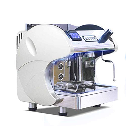 Coffee Machine Espresso Maker Business All-in-One Pressure Pump High Pressure Steam Pipe Boil-Dry Protection LCD Constant Water Temperature Independent Pressure Gauge Low Water Level Protection Device