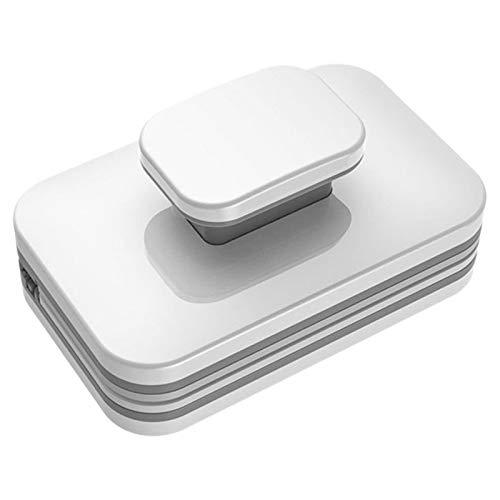 SNOWINSPRING Adecuado para Limpiaparabrisas de Ventana de Espesor de Vidrio de 3-10 Mm Limpiador de Vidrio MagnéTico de Doble Cara de Gran Altitud para el Hogar