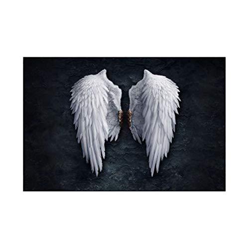 Phayee Pintura sin Marco de alas de ángel, Pintura sin Marco de alas de ángel, Cuadros de Arte de Pared, decoración Moderna del hogar, 40x60 cm