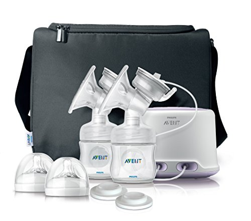 Philips Avent SCF334/02 - Sacaleches doble,...