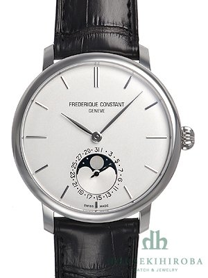 Frederique Constant Slimline Moonphase Automatic orologio fc-705s4s6