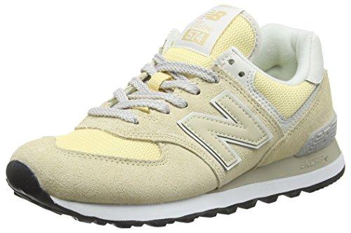 New Balance Damen WL574-CRA-B Sneaker, Elfenbein (Vanilla CRA), 40 EU