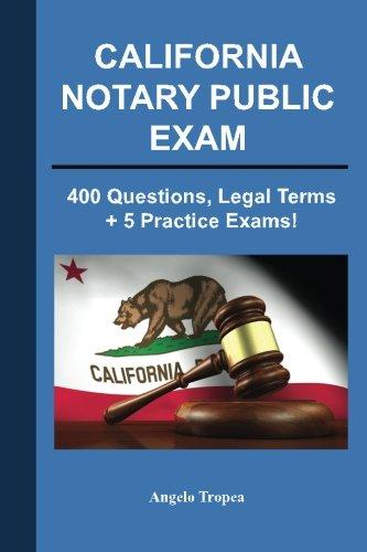 California Notary Public Exam