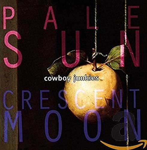 Pale Sun Crescent Moon