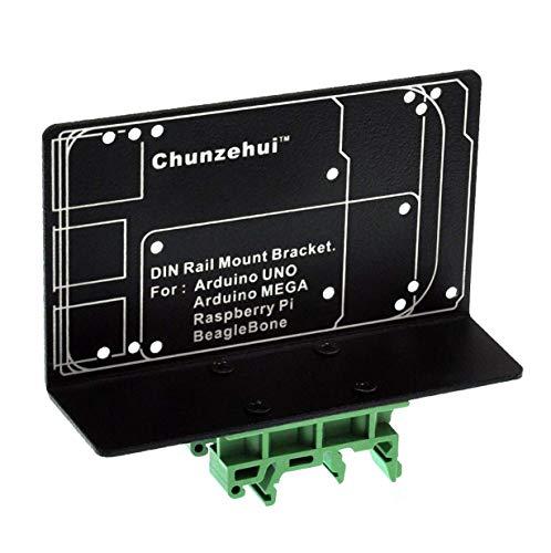 DIN-Schienenhalterung für Raspberry Pi 2 3 B B+ Zero Arduino UNO MEGA