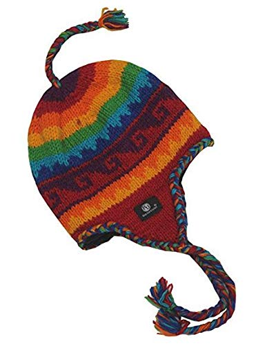 Sherpa Designs Hand Knit Unisex Wool Beanie Hat...