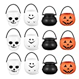 Berrywho 12 unids Halloween Candy Holder Mini Halloween Caramelo...