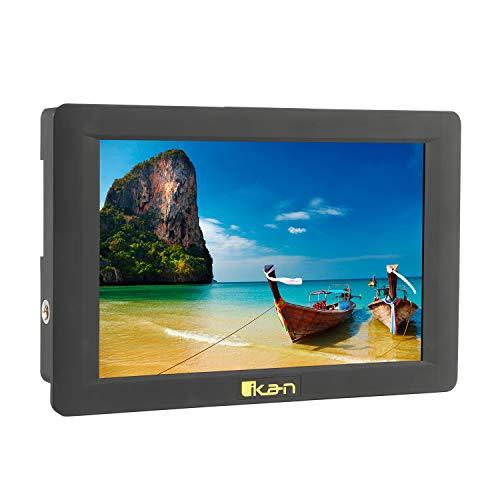 Ikan Delta 7″ High Bright On-Camera 4K HDMI Monitor with 3D LUTs (DH7-V2), Black