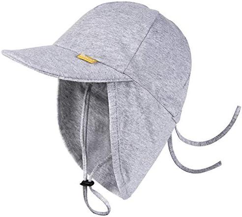 FURTALK Baby Sun Hat UPF 50 UV Ray Sun Protection Cotton Toddler Hats for Boys Girls Grey product image