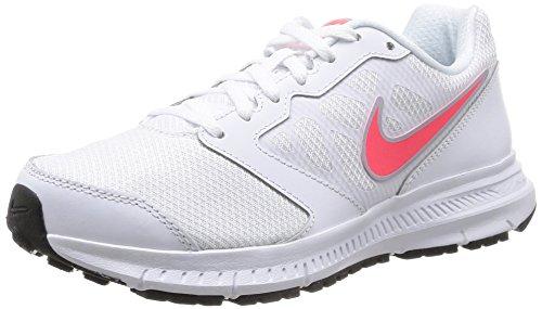 Nike Wmns Downshifter 6 Scarpe da Ginnastica, Donna, Bianco (White (White/Hyper Punch-Lite Magnet...