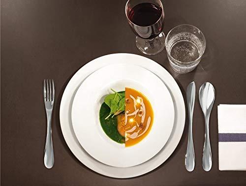 Alessi WA10/37 eat.it - Juego de 6 cuchillos para mantequilla de acero inoxidable 18/10 brillante