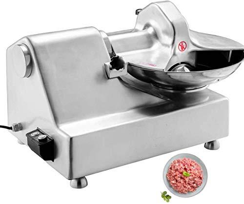 Lowest Price! TECHTONGDA Electric Meat Vegetable Cutter Chopper Machine Grinder for Food Processor Stainless Steel 120KG/H 110V