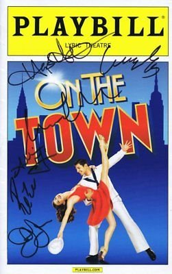 On the Town 2015 Cast Signed Playbill Misty Copeland