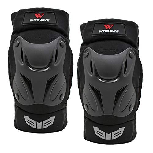 chiwanji Par Codo Protector Almohadilla Protector Engranaje Moto Bicicleta Codo Negro