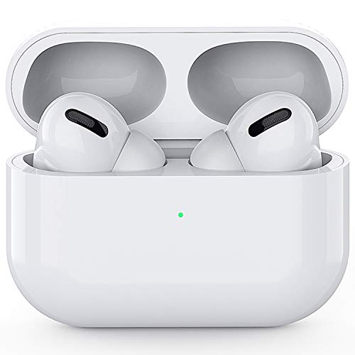 Wireless Earbuds Headphones Bluetooth 5.0 Earbuds with Mic Smart Noise Reduction (Fast Charging Case) Auto Pairing in-Ear Ear Buds Compatible with Apple Airpods pro iPhone Android Earplugs