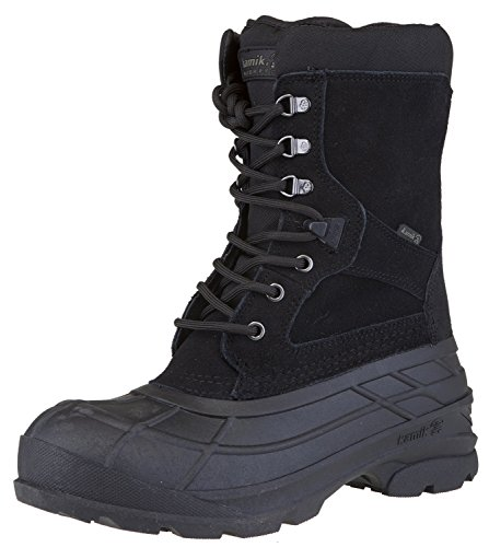 Kamik Men's Nationplus Boot (10.5 D(M) US, Black)