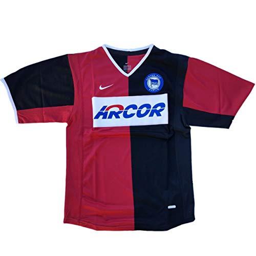 Nike Hertha BSC Berlin Trikot Herren schwarz-rot Fußball Shirt NEU (S)