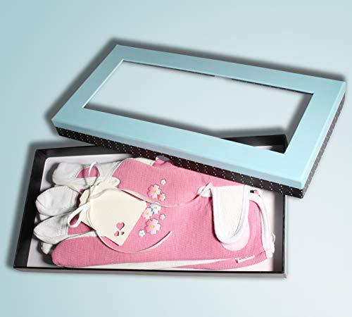 Damen Gartenhandschuhe aus Leder in schöner Box für Muttertag oder besondere Damen. Personalisierte Nachricht mit unserem schönen Geschenkanhänger