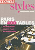 Paris en 400 tables