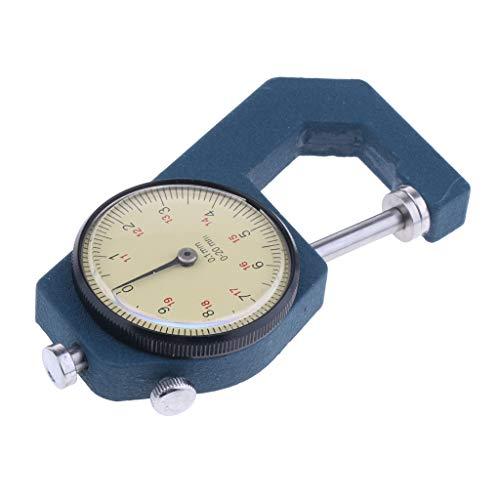 Dickenmessgerät Dickenmessung Dickenmesser 0,01 Mm 0-20 Mm, aus Metall