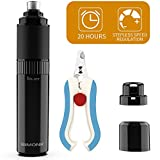 BiMONK Upgraded Dog Nail Grinder, 20 Hours Working Time, USB Rechargeable, 2500 mAh